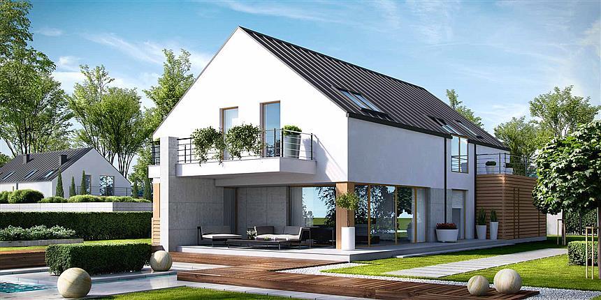 Projekt Domu Homekoncept 19 195 13 M2