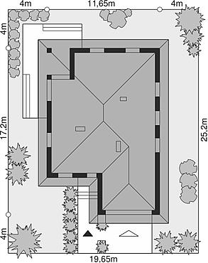 Projekt Domu Dom Przy Pastelowej 8 Bis 100 M2